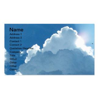 Se nubla la tarjeta de visita