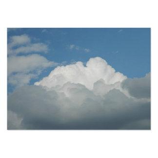Se nubla tarjetas de visita