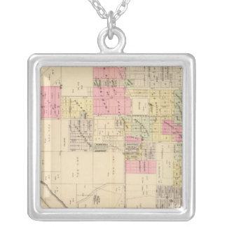SE Omaha, Nebraska Square Pendant Necklace
