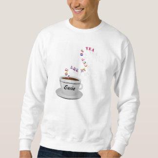 Se personaliza le mi taza de camiseta del té sudaderas encapuchadas