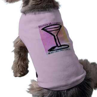 … Se prefiere la mina sacudida o revuelta Camisa De Perro