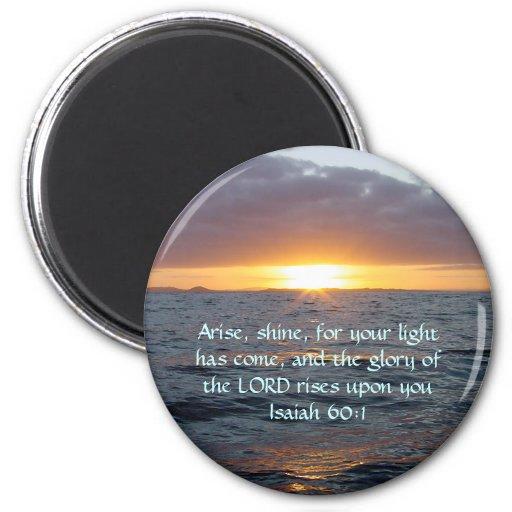 Se presenta el brillo - 60:1 de Isaías Imán Redondo 5 Cm
