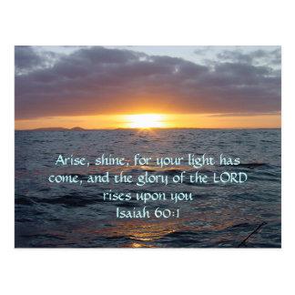 Se presenta el brillo - 60:1 de Isaías Postales