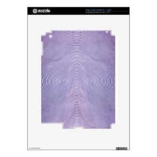 Se presenta el extracto de la longitud de onda por iPad 2 skins