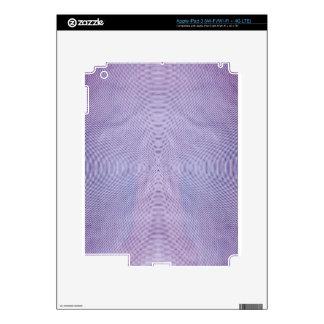 Se presenta el extracto de la longitud de onda por pegatina skin para iPad 3