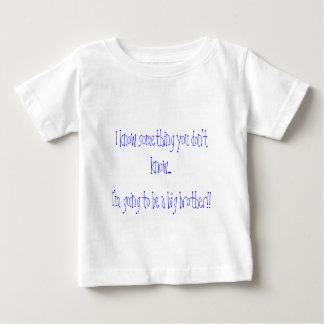 Sé que algo que usted no sabe…, soy t que va… t-shirts