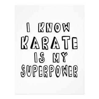 Sé que el karate es mi superpotencia