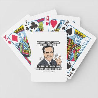 SÉ que es DURO PERDER SU TRABAJO Baraja Cartas De Poker