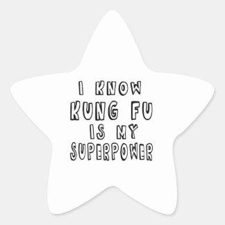 Sé que Kung Fu es mi superpotencia
