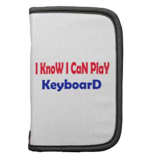 Sé que puedo jugar el teclado organizadores