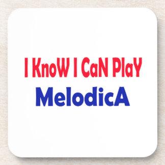 Sé que puedo jugar Melodica. Posavasos De Bebida