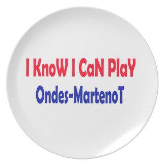 Sé que puedo jugar Ondes-Martenot. Plato De Cena