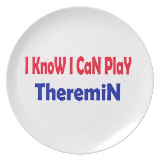 Sé que puedo jugar Theremin. Plato De Comida