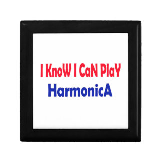 Sé que puedo tocar la armónica caja de regalo