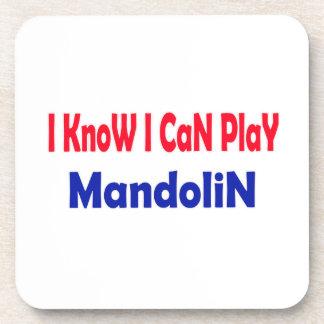 Sé que puedo tocar la mandolina posavasos