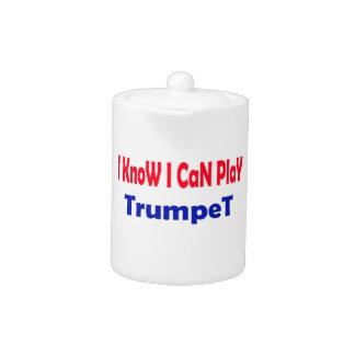 Sé que puedo tocar la trompeta