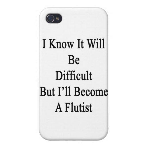 Sé que será difícil pero haré un Flut iPhone 4 Funda