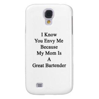 Sé que usted me envidia porque mi mamá es un gran funda para galaxy s4