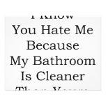 Sé que usted me odia porque mi cuarto de baño es m anuncio personalizado