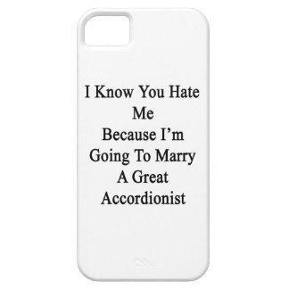 Sé que usted me odia porque voy a casar A GR iPhone 5 Carcasas