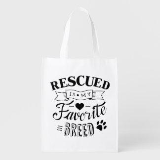 Se rescata mi bolso de ultramarinos reutilizable bolsa para la compra