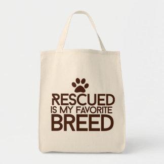 Se rescata mi raza preferida bolsa tela para la compra
