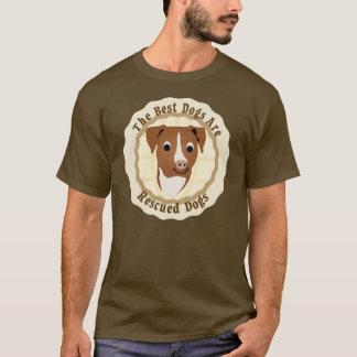 Se rescatan los mejores perros (el pitbull) playera