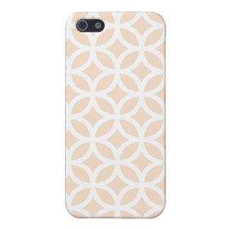 Se ruboriza el caso geométrico del iPhone 5 iPhone 5 Carcasa