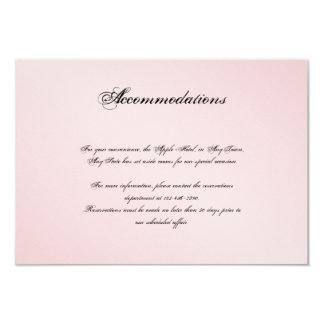 Se ruboriza el parte movible rosado del boda de la