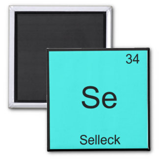 Se - Selleck Chemistry Element Symbol Funny Magnum 2 Inch Square Magnet