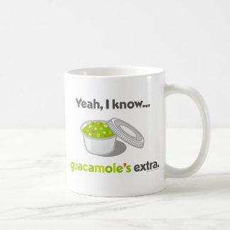 Sé sí que el Guacamole es adicional (la taza de