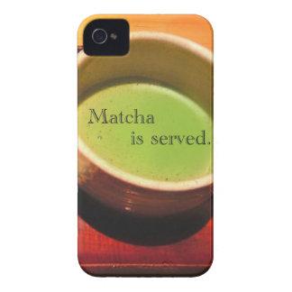 Se sirve Matcha iPhone 4 Protector