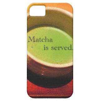 Se sirve Matcha iPhone 5 Carcasa
