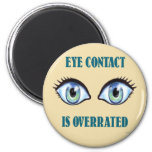 Se sobrestima el contacto visual imán de frigorifico