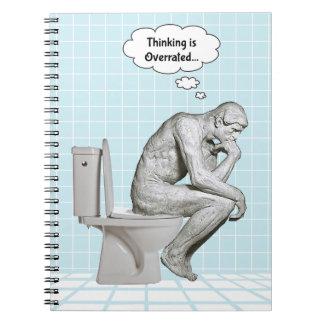 Se sobrestima el pensamiento…. cuaderno