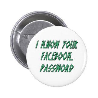Sé su contraseña del facebook pins