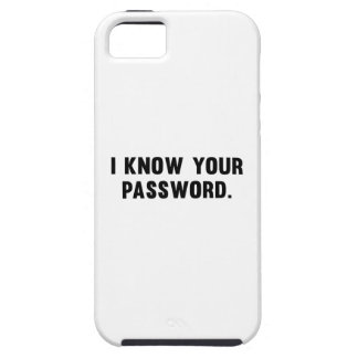 Sé su contraseña iPhone 5 cárcasas