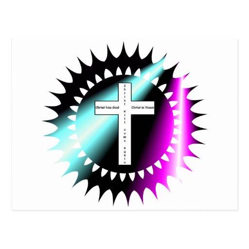 Se sube Cristo ha muerto, Cristo… Tarjeta Postal