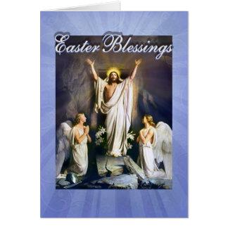Se sube el Jesucristo, resurrección de Pascua Tarjeta De Felicitación
