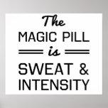 Se suda la píldora mágica e intensidad