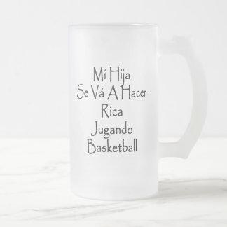 SE Va del MI Hija un baloncesto de Hacer Rica Juga Tazas De Café