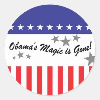 Se va la magia de Obamas Etiqueta Redonda