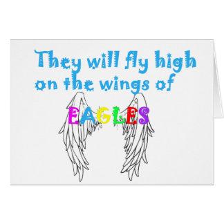 se va volando el águila felicitación