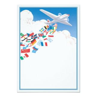 """Se va volando el © invitación 5"""" x 7"""""""