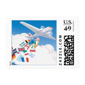 Se va volando el © timbres postales