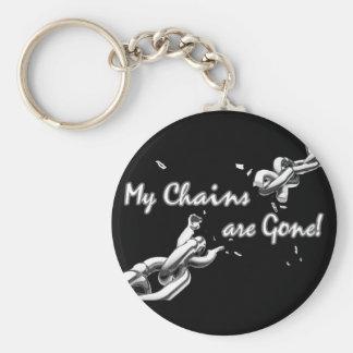 Se van mis cadenas llavero redondo tipo pin