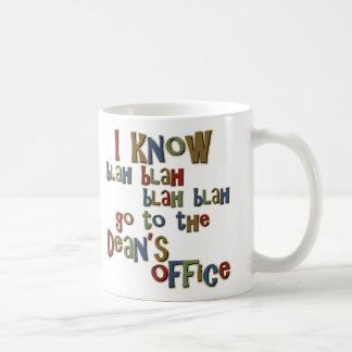 Sé voy a los decanos Office Taza De Café
