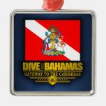 Se zambullen las Bahamas 2 Ornamente De Reyes