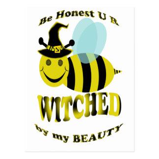 sea abeja honesta de u r witched por mi belleza postal