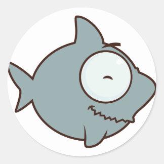 Sea Adventure Classic Round Sticker